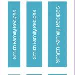 Binder Spine Templates Free   Hashtag Bg   Printable Binder Spine Inserts Free