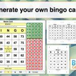 Bingo Card Generator Excel Tutorial   Youtube   Free Printable Bingo Cards 1 100