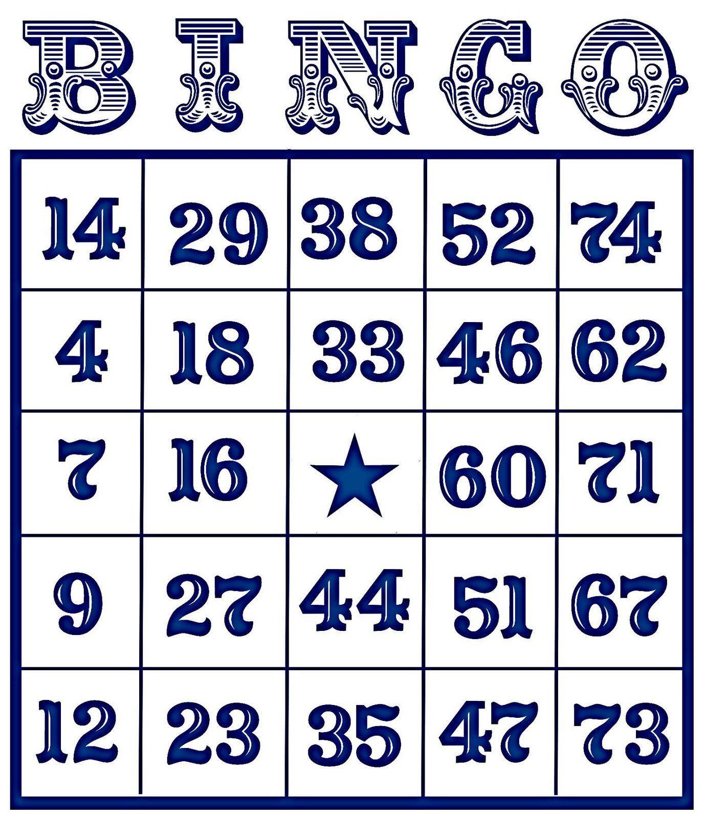 Bingo Card Vintage | Soldered Pendant Ideas | Free Bingo Cards, Free - Free Printable Bingo Cards With Numbers