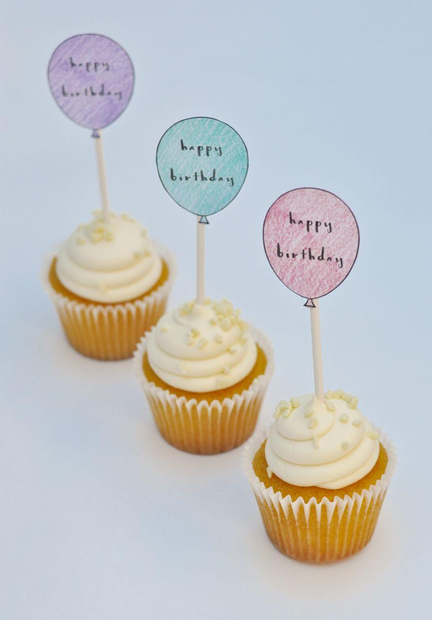 Birthday Cake Toppers Free Printable Birthday Cupcake Toppers Make - Free Printable Birthday Cake