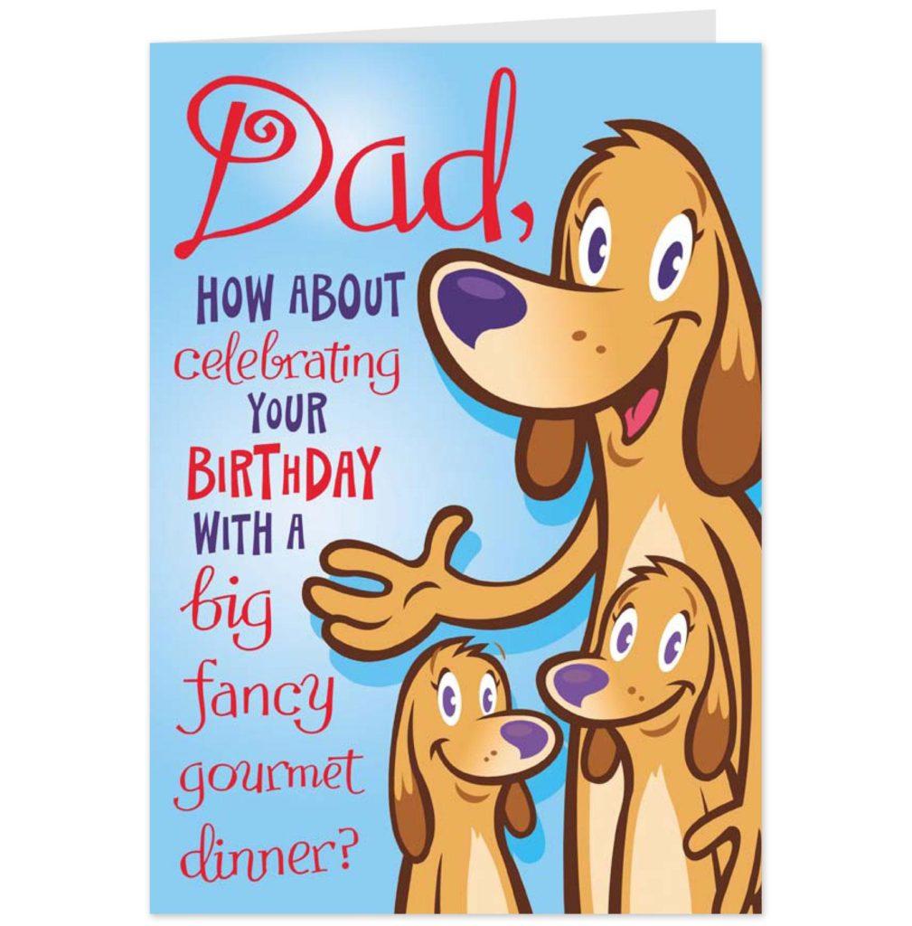 Birthday Card. Free Printable Birthday Cards For Dad - Gfreemom - Free Printable Birthday Cards For Dad