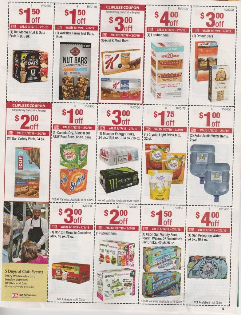 Bjs In Club Coupon Scan & Matchups 1/17- 2/3   My Bjs Wholesale - Free Printable Coupons For Food