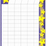 Blank Behavior Chart Template Free Printable Classroom Reward Charts   Free Printable Charts For Classroom