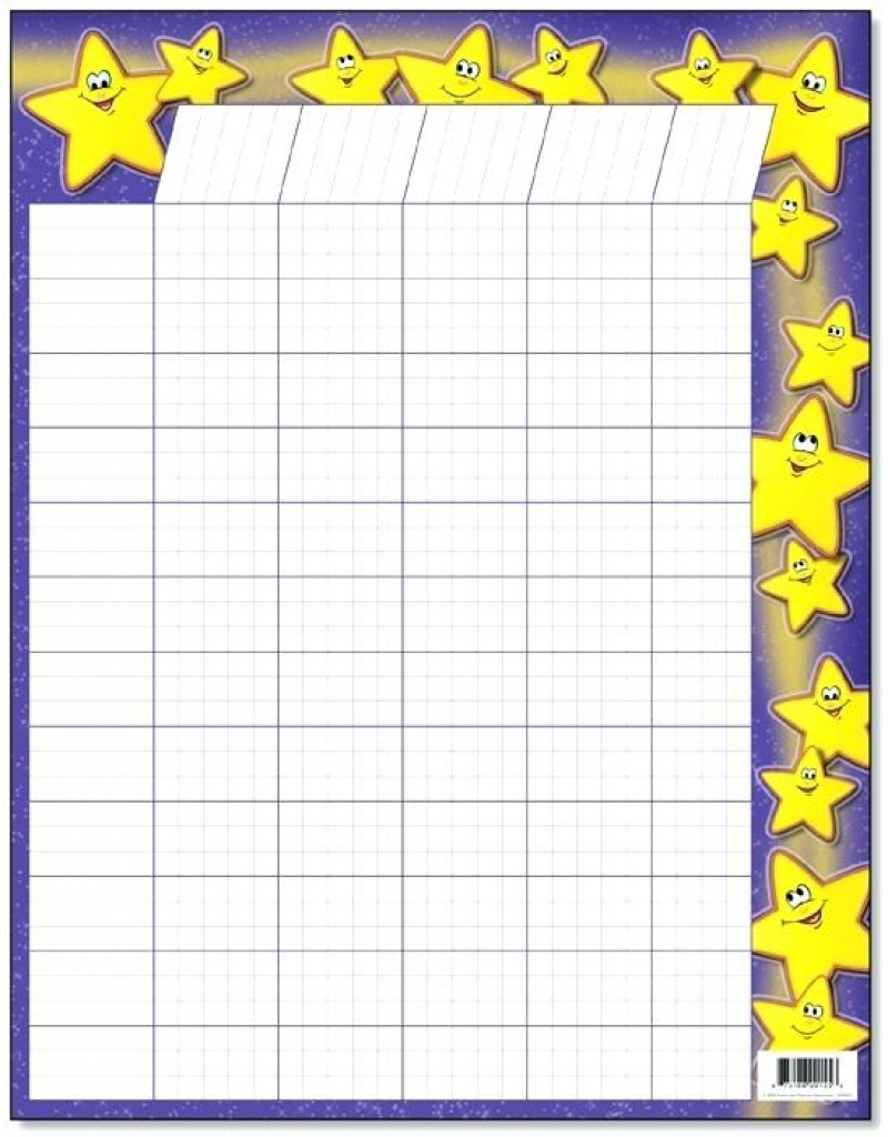 Blank Behavior Chart Template Free Printable Classroom Reward Charts - Free Printable Charts For Classroom