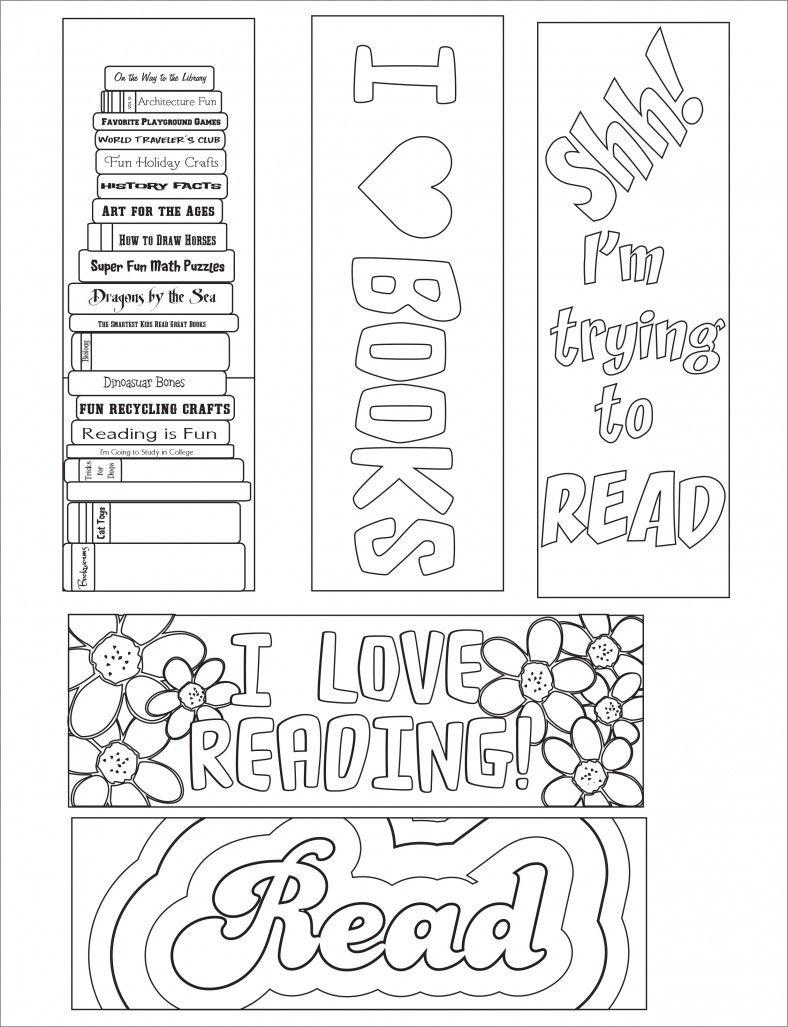 Blank Bookmark Template, Bookmark Template | Bookmarker Ideas | Free - Free Printable Blank Bookmarks