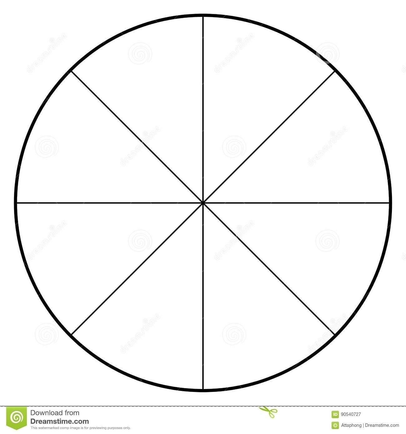 Blank Pie Chart 2018 | Corner Of Chart And Menu - Free Printable Pie Chart
