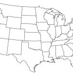 Blank Printable Map Of The Us Clipart Best Clipart Best | Centers   Free Printable Outline Map Of United States