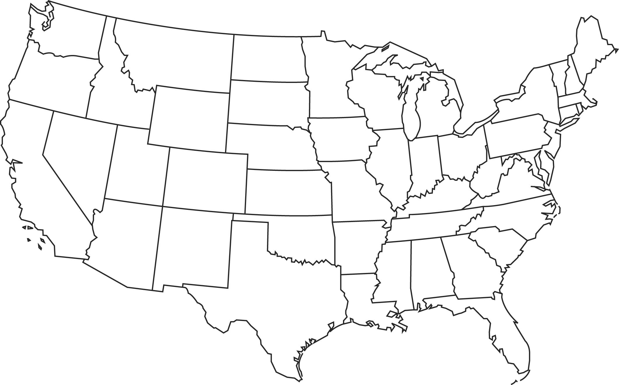 Blank Printable Map Of The Us Clipart Best Clipart Best | Centers - Free Printable State Maps