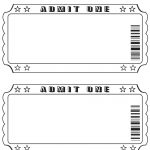 Blank Ticket … | Diy And Crafts | Pinte…   Free Printable Admission Ticket Template