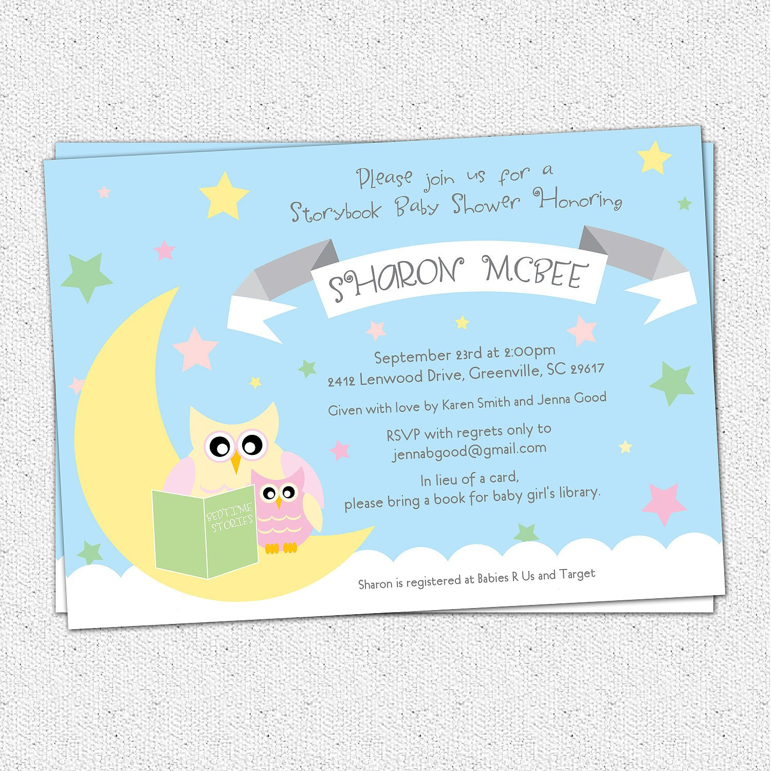 Book Themed Baby Shower Invitations Book Themed Baby Shower - Free Printable Book Themed Baby Shower Invitations