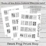 Books Of The Bible Tabs Freebie New Test. And Old Test. | Etsy   Free Printable Books Of The Bible Tabs