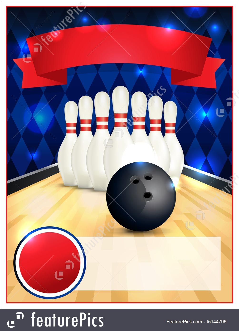 Bowling Party Invitation Template | Hunecompany - Free Printable Bowling Invitation Templates