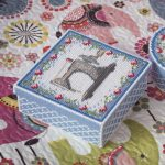 Box Plastic Canvas Patterns Free Tissue Box Cross Stitch   Etsy   Free Printable Plastic Canvas Tissue Box Patterns