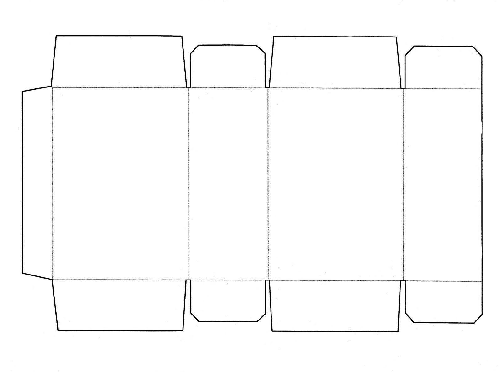 Box Templates | This Is A Cereal Box Template That Fits Your - Box Templates Free Printable