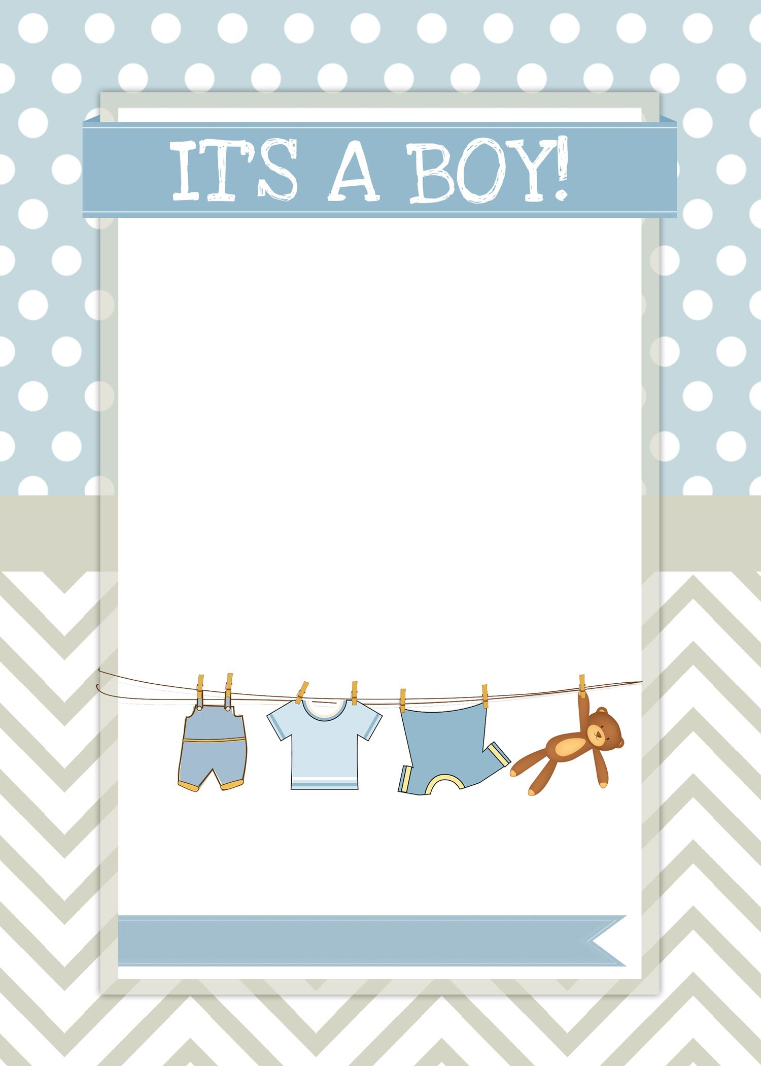 Boy Baby Shower Free Printables | Ideas For The House | Pinterest - Free Baby Boy Shower Invitations Printable