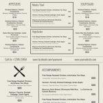 Breathtaking Free Printable Restaurant Menu Templates ~ Ulyssesroom   Free Printable Restaurant Menu Templates