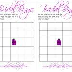 Bridal Bingo (And A Free Printable) | A Bride On A Budget   Free Printable Bridal Shower Blank Bingo Games
