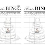 Bridal Shower Bingo (Free Printable) | Weddings  Love It   Free Printable Bridal Shower Blank Bingo Games