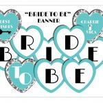 Bridal Shower Heart Banner Miss To Mrs Banner Digital Download | Etsy   Free Printable Miss To Mrs Banner