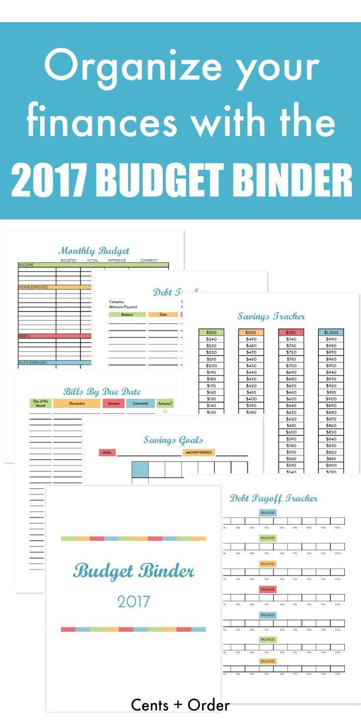 Budget Binder Printable: How To Organize Your Finances | The Group - Free Printable Budget Binder Worksheets