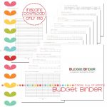 Budget Binder W/ 52 Wk Saving Plan «   Free Printable Budget Binder Worksheets