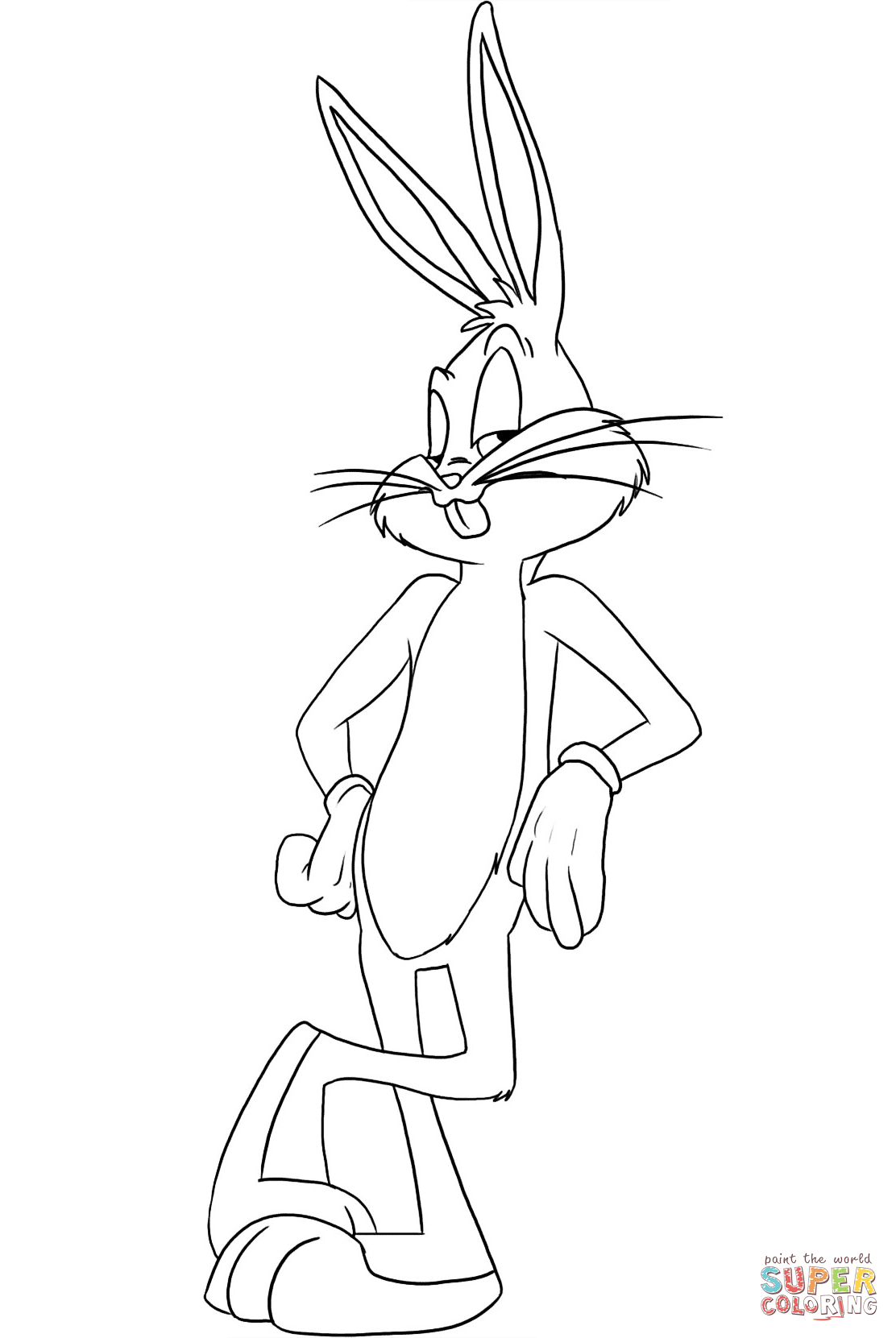 Bugs Bunny   My Art Work In 2019   Pinterest   Bunny Coloring Pages - Free Printable Bugs Bunny Coloring Pages