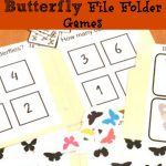 Butterfly File Folder Games: Free Printable! | Views From A Step   Free Printable Folder Games