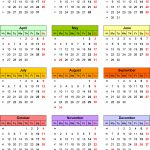 Calendar 2015 Uk 16 Free Printable Pdf Templates | News To Gow   Free Printable Diary 2015