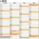 Calendar 2016 (Uk)   16 Free Printable Word Templates   Free Printable Monthly Planner 2016