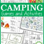 Camping Games And Activities   Growing Play   Free Printable Camping Games