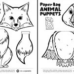 Canadian Animal Paper Bag Puppets   Play   Cbc Parents   Free Printable Paper Bag Puppet Templates