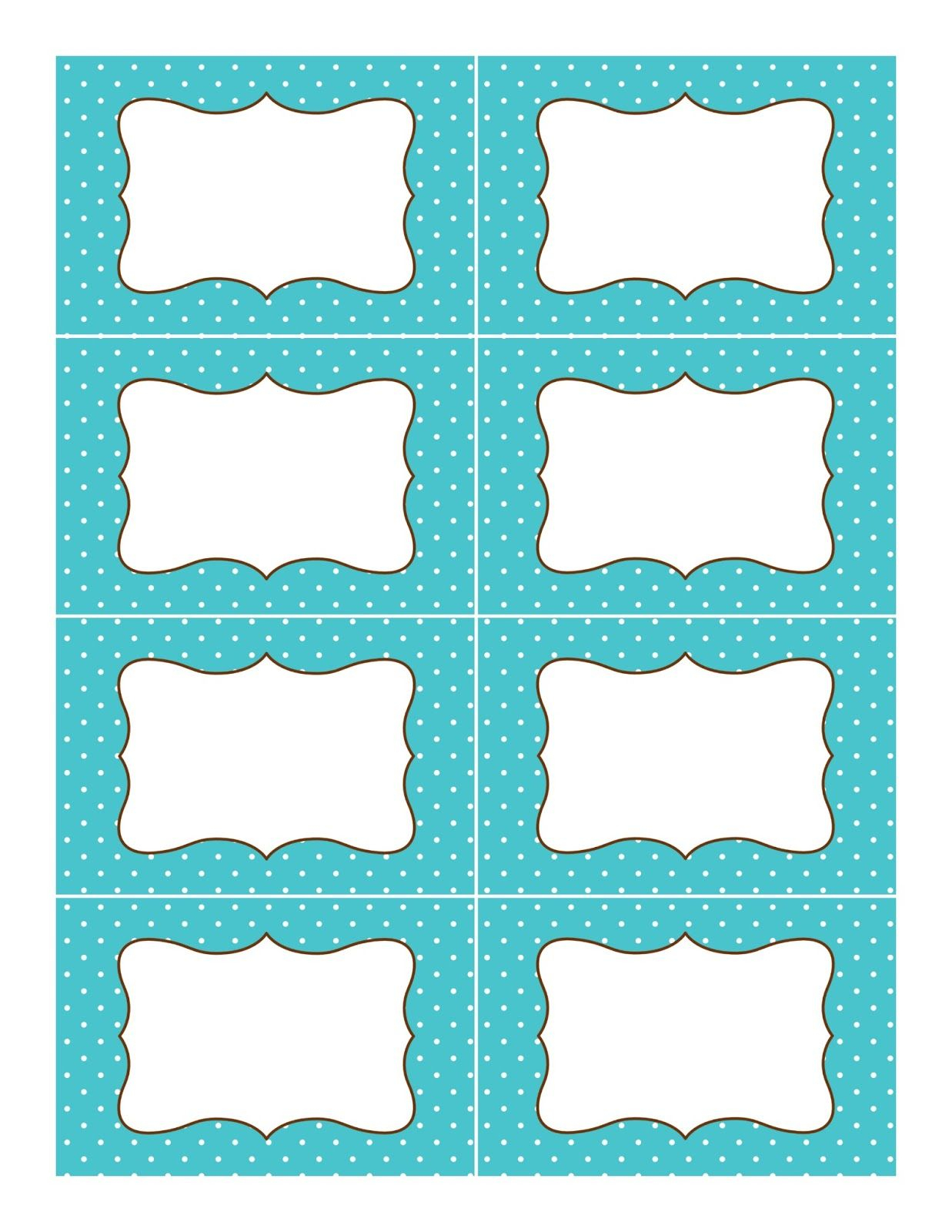 Candy Buffet Supplies: Free Printable Labels | Organization - Free Editable Printable Labels