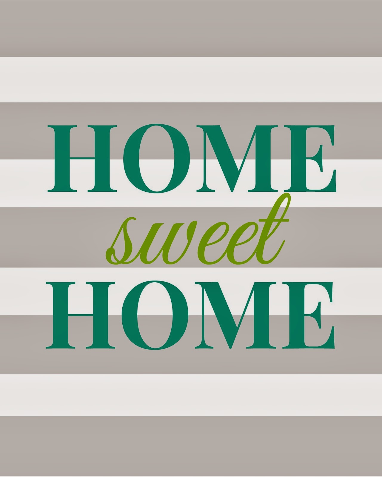 Carry Grace: Home Sweet Home - Free Printable - Home Sweet Home Free Printable