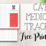 Cat Immunization & Medical Tracker {Free Printable}   Tastefully   Free Printable Pet Health Record