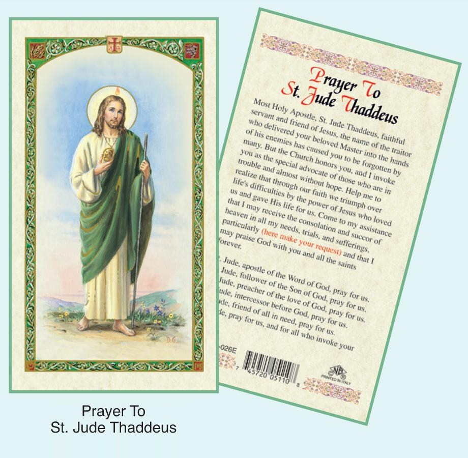 Catholic Prayer Cards - Free Printable Catholic Prayer Cards