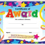 Certificate Template For Kids Free Certificate Templates   Free Printable Children's Certificates Templates