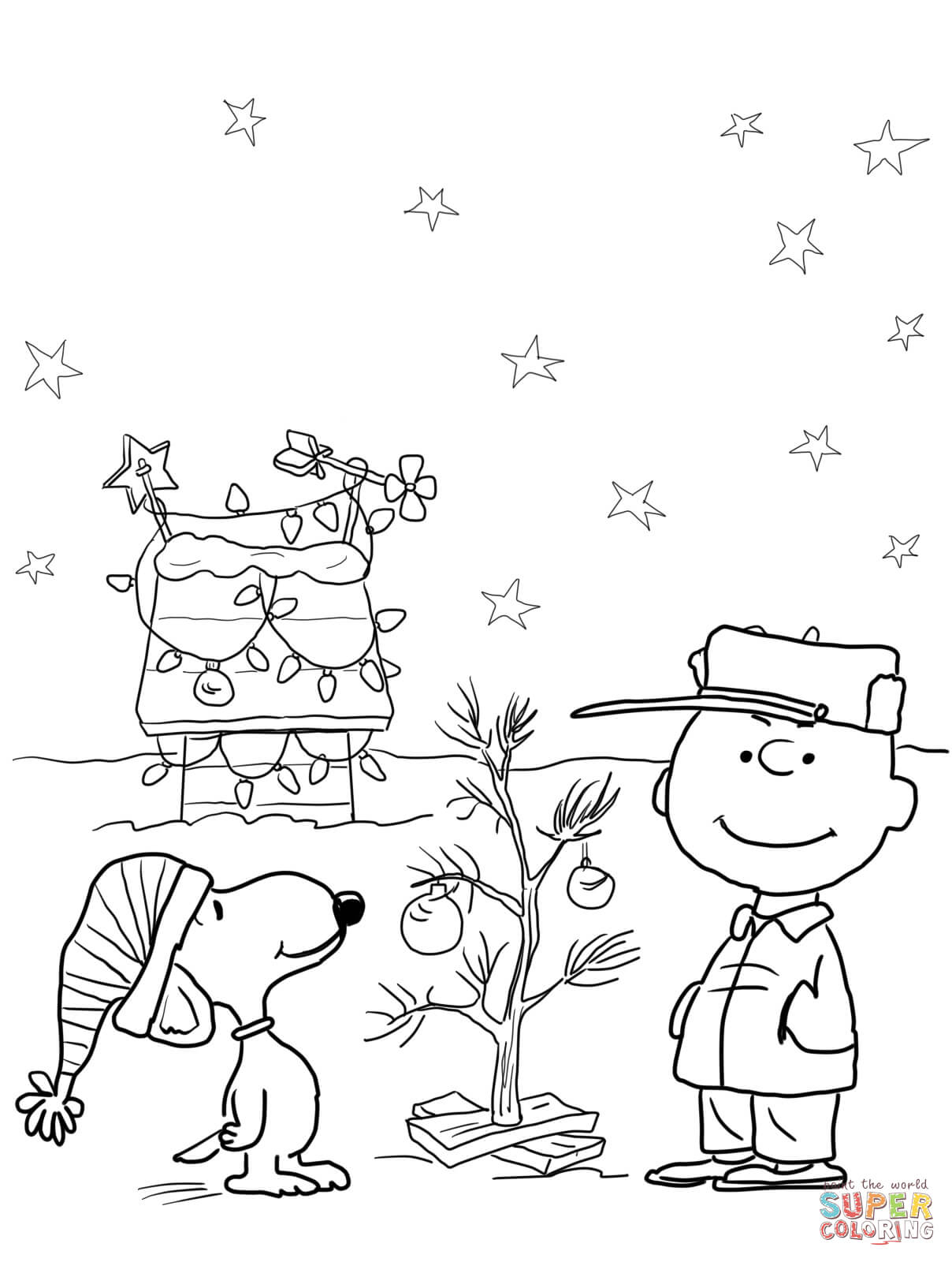 Charlie Brown Halloween Coloring Page   Free Printable Coloring Pages - Free Printable Charlie Brown Halloween Coloring Pages
