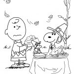 Charlie Brown Thanksgiving Coloring Page | Free Printable Coloring Pages   Free Printable Thanksgiving Coloring Pages