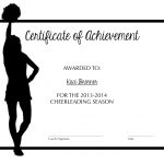 Cheerleading Certificate Of Achievement | Cheer | Pinterest | Cheer   Free Printable Cheerleading Certificates
