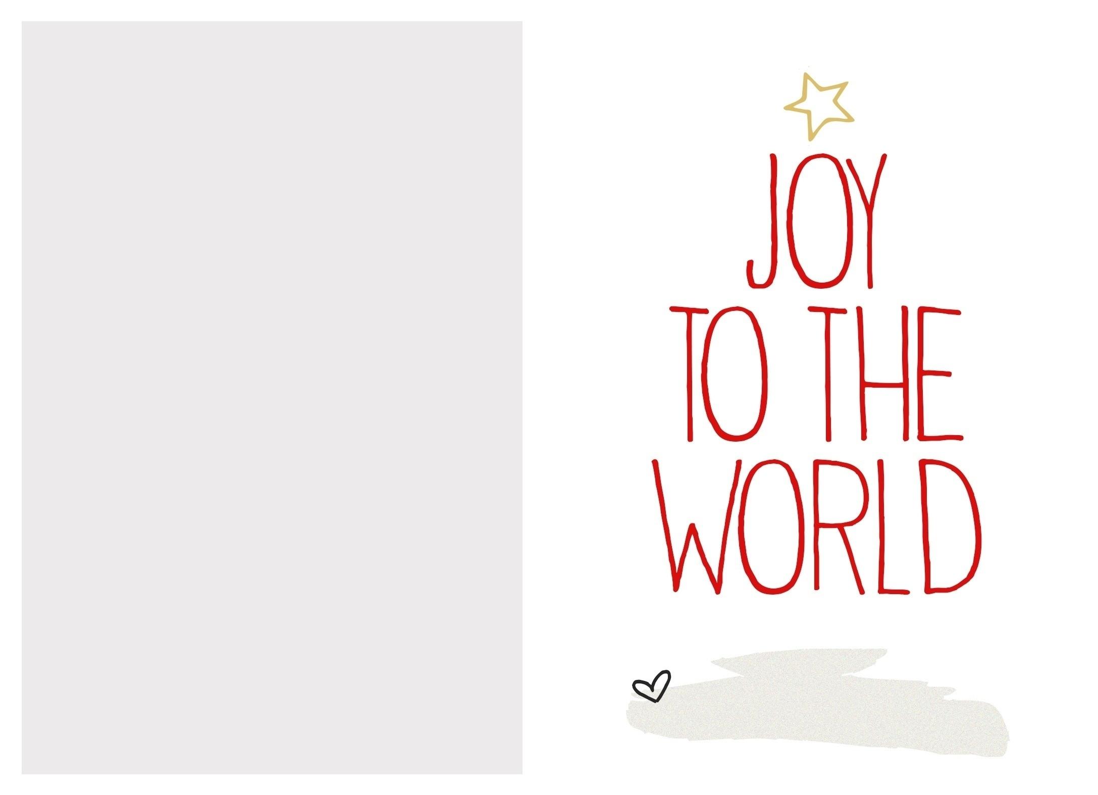 Christmas Card Templates Free Printable | Reactorread - Free Printable Photo Christmas Cards