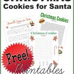 Christmas Cookies For Santa Poem And Printable Games   Free! – The   Free Printable Poetry Posters