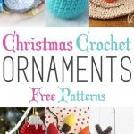 Christmas Crochet Ornaments With Free Patterns   Free Printable Christmas Crochet Patterns