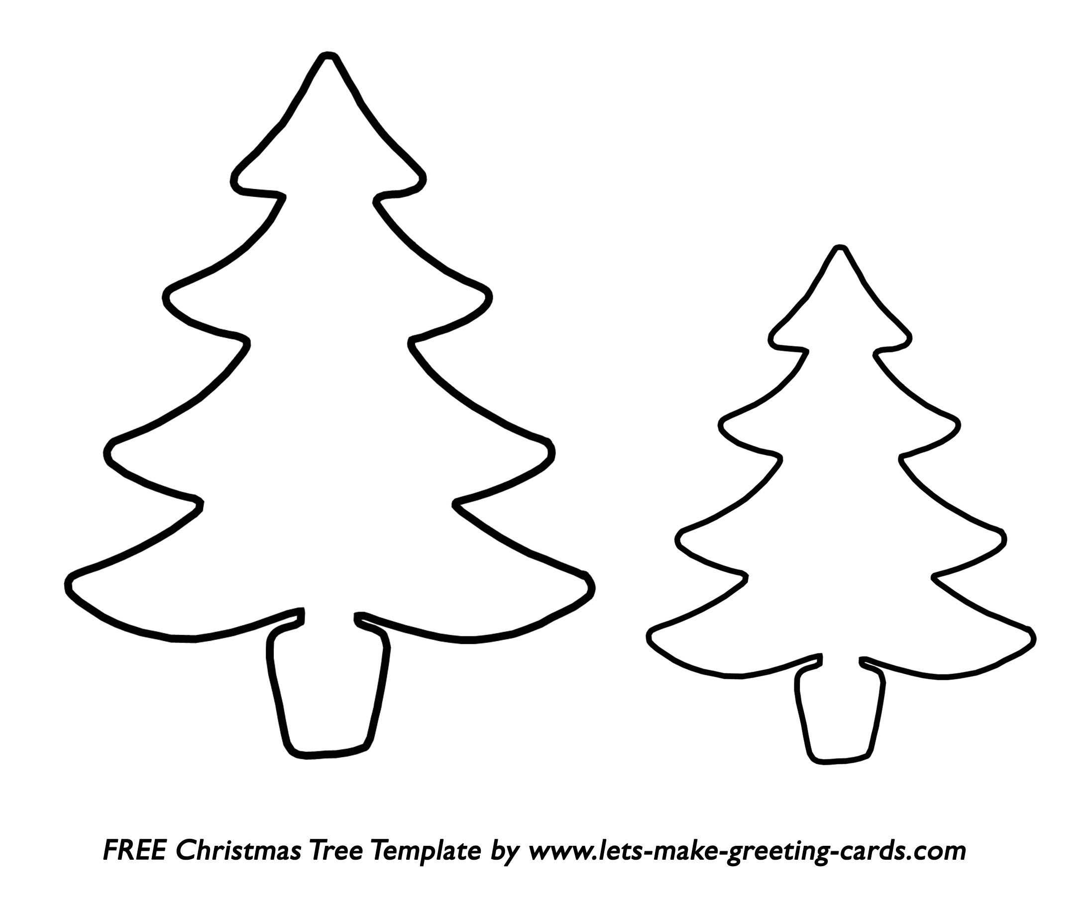 Christmas Cutouts Free Printable – Festival Collections - Free Printable Christmas Cutouts