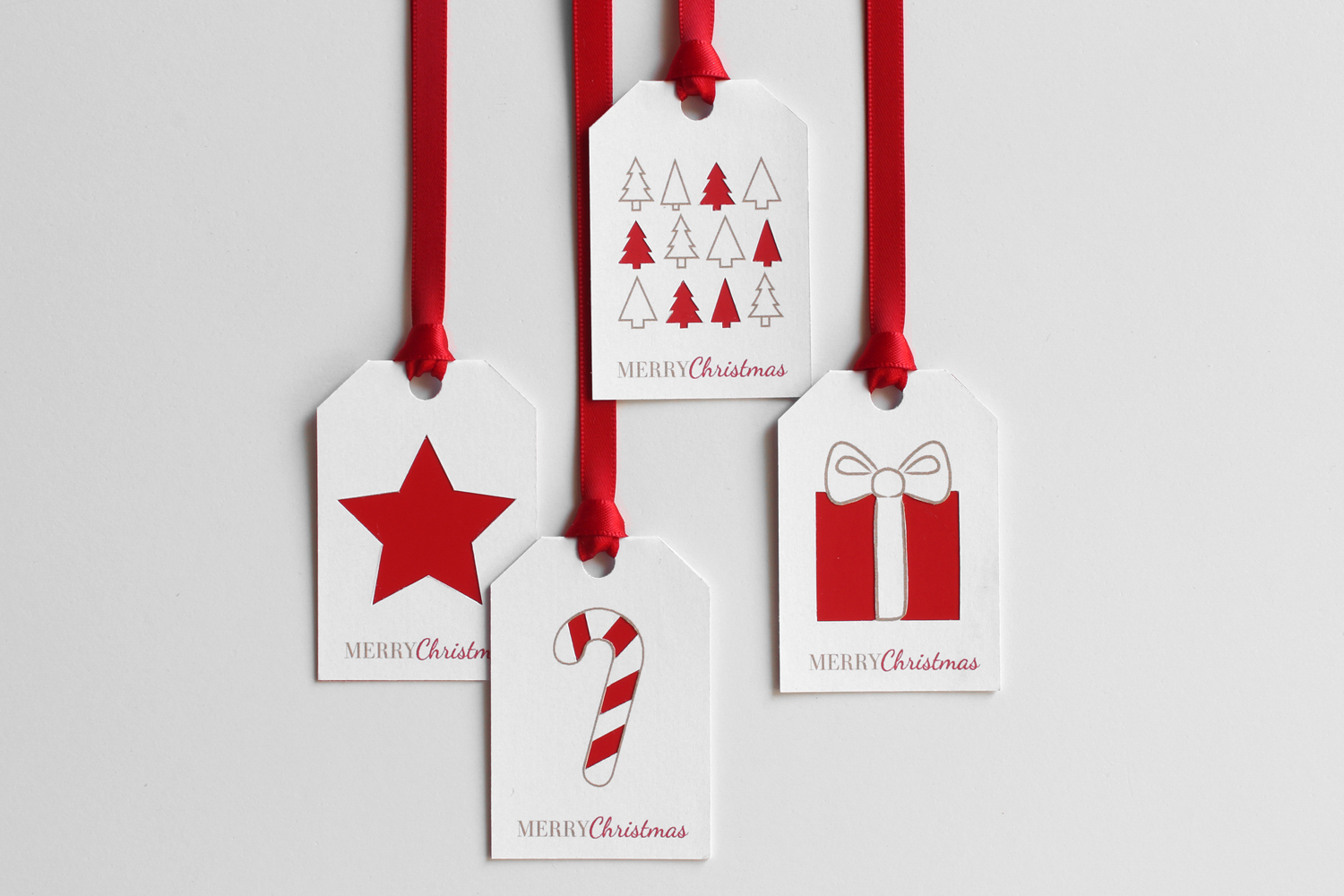 Christmas Diy Week 2/8: Paint Chip Gift Tags With Free Printable – A - Diy Gift Tags Free Printable