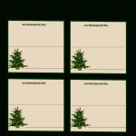 Christmas Free Printable Table Seating Cards   5.15.hus Noorderpad.de •   Free Printable Place Card Templates Christmas