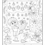 Christmas Gifts Hidden Picture Printable Activity | Merry Christmas   Free Printable Christmas Hidden Picture Games