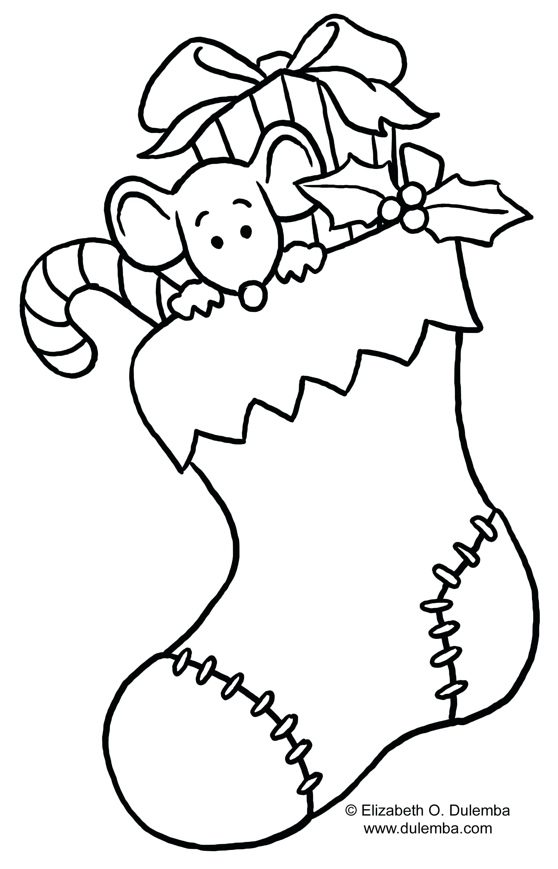 Christmas Lights Coloring Page – Tipback.co - Free Printable Christmas Lights Coloring Pages