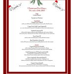 Christmas Menu Template   17 Free Templates In Pdf, Word, Excel Download   Free Printable Christmas Dinner Menu Template