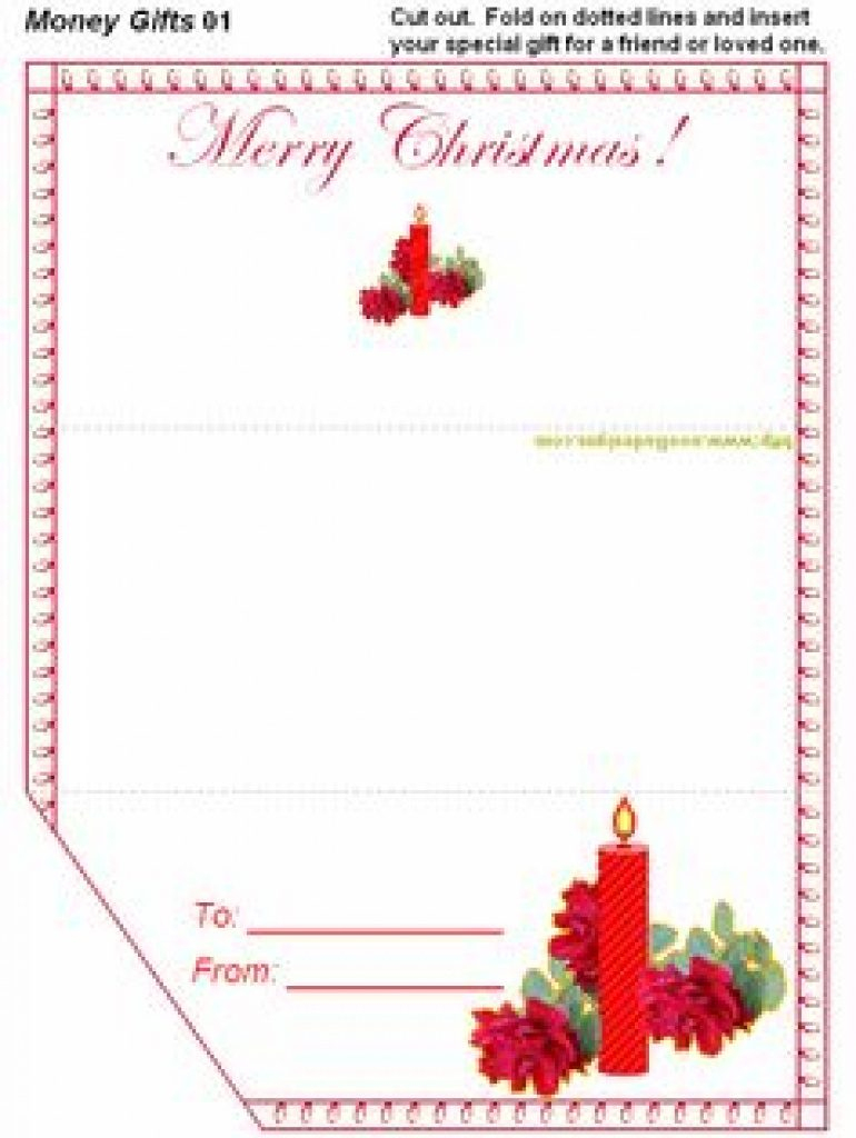 Christmas Money Wallets Free Printable | Free Printable - Christmas Money Wallets Free Printable