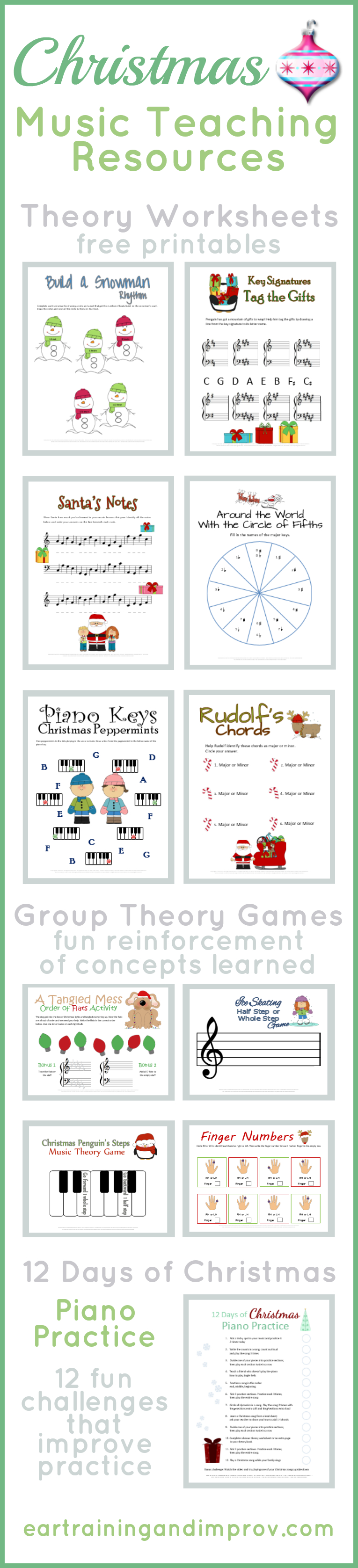 Christmas Music Theory Worksheets - 20+ Free Printables - Beginner Piano Worksheets Printable Free